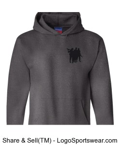 Oif, Oef Heavyweight Pullover Hooded Sweatshirt Design Zoom