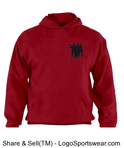 Oif, Oef Adult Russell  Dri POWER Pullover Hooded Sweatshirt Design Zoom